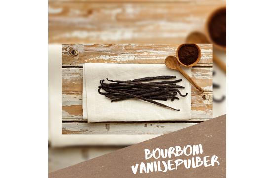 Mis on Bourboni vaniljepulber ning kuidas seda kasutada?