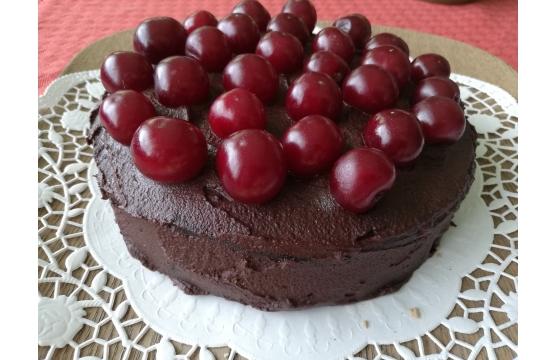 Šokolaadikook kirssidega - tõelise šokolaadi fännidele