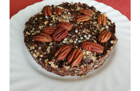 Toorkook mandlivõi ja pekanipähklitega