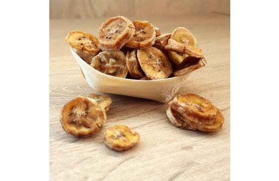 Banaanilaastud on kõhule kerge ja kiire toit