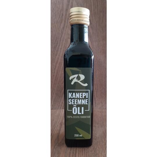 Kanepiseemne õli 250 ml.jpg