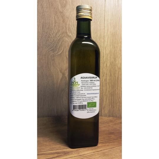 Agaavisiirup kandilises pudelis 500 ml.jpg