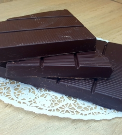 Raw chocolate coating 75% 1kg, organic