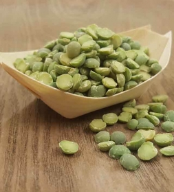 Rohelised herned, poolikud 1 kg, mahe