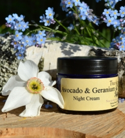 Avocado & Geranium night cream, 50g
