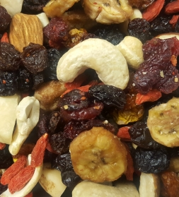 Organic nut & fruit mix  500g