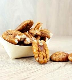Pekaani pähklid poolikud 200 g, mahe