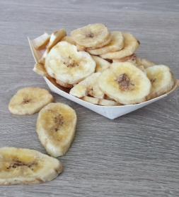 Banaanilaastud magustatud 500 g, mahe