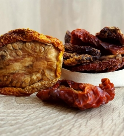 Sundried tomatoes with sea salt 1kg, organic