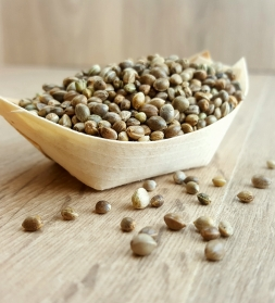 Hemp seeds 1kg, organic