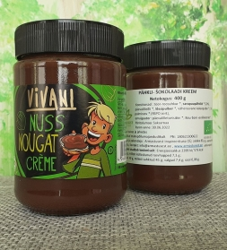 Organic spread chocolate-hazelnut 400g