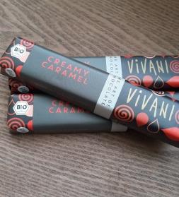 Šokolaadibatoon karamelliga Vivani  40 g  , mahe